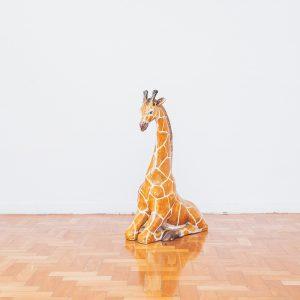 escultura_girafa_-_ceramica_plaster_-_original_de_epoca_-_sec.xx_-_1_-_pe_palito_vintage