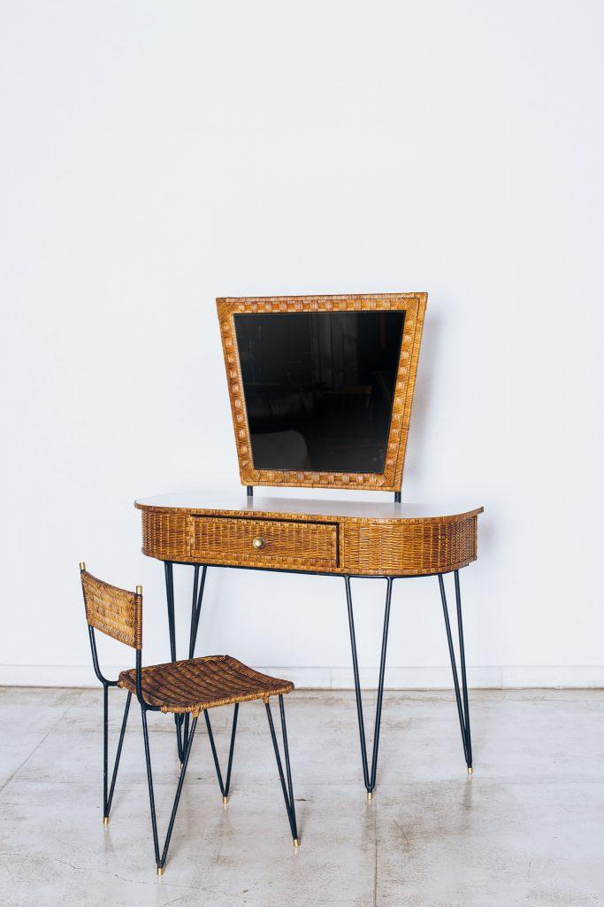Penteadeira de Vime-Cadeira Vime-dec50 1
