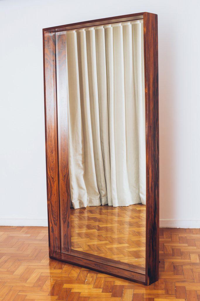 espelho jacarandá original dec 60 - 1