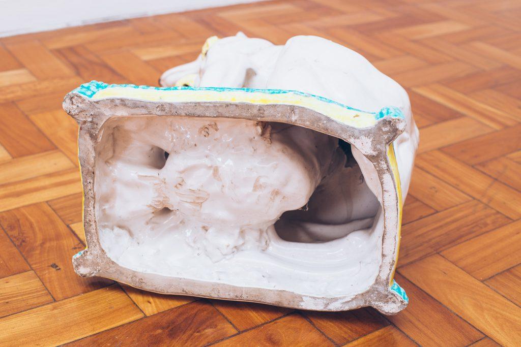 Galgo de Porcelana 4 - Pé Palito Vintage