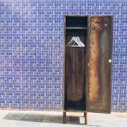 Locker Industrial Cabideiro 3 - Pé Palito Vintage