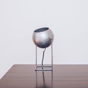 Luminária Alumínio Bolinha I - Pé Palito Vintage