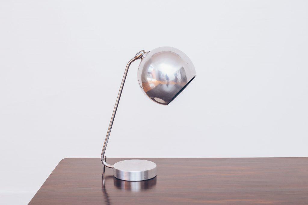 Luminária Alumínio Bolinha II - 1 - Pé Palito Vintage