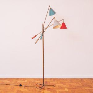 Luminária Triennale - Angelo Lelli - 1 - Pé Palito Vintage