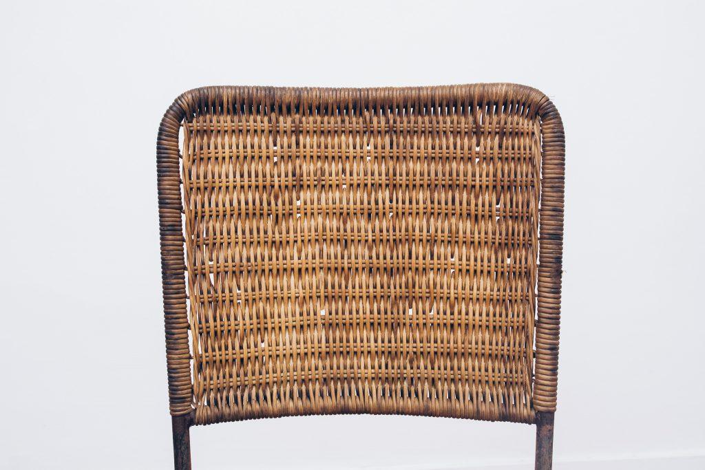 Cadeiras de Junco - Originais de Época 3 - Pé Palito Vintage