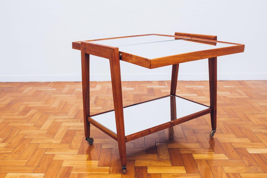 Carrinho de Chá Trifásico 2 - Anos 50 - Pé Palito Vintage