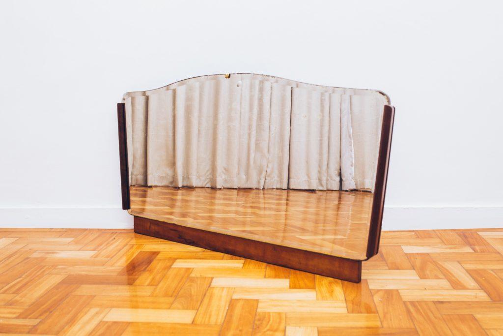 Espelho Guelmann - Brasil Anos 60 - 1 - Pé palito Vintage