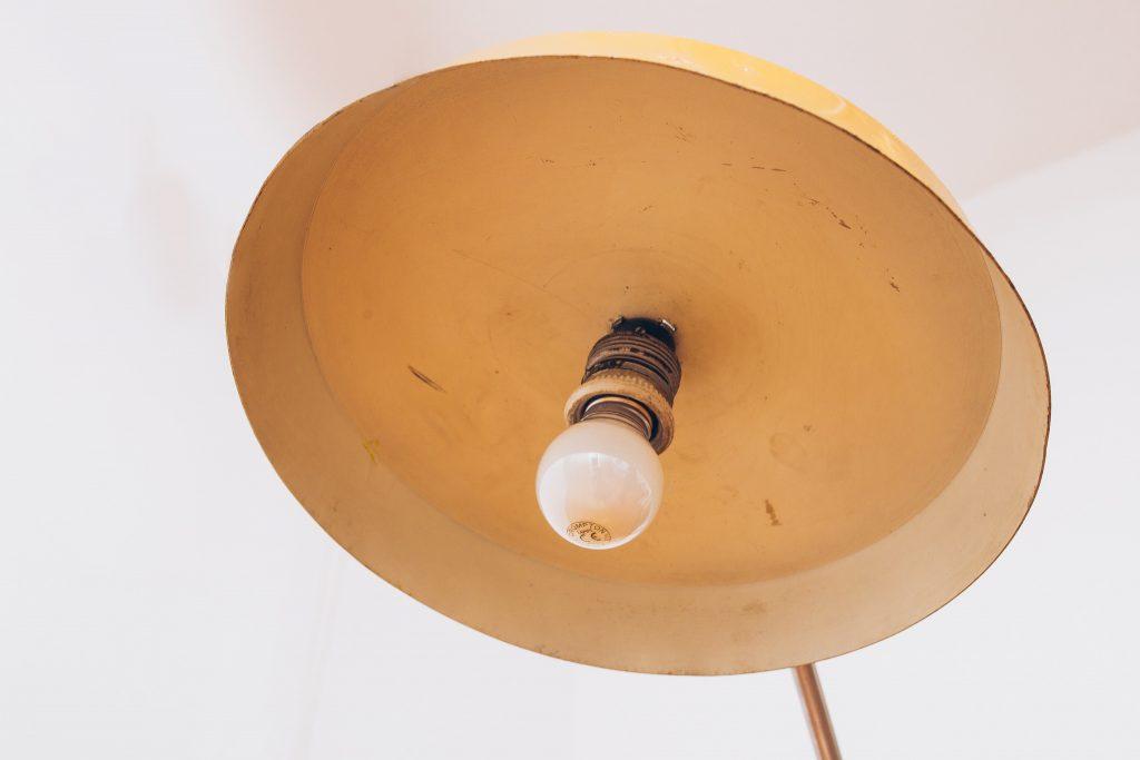 Luminária Studio Fase Espanha - Original 3 - Pé Palito Vintage
