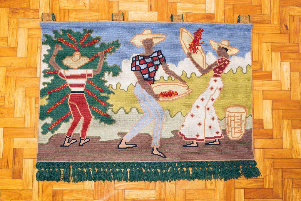 Tapeçaria Cafezal 1 - Original - Pé Palito Vintage