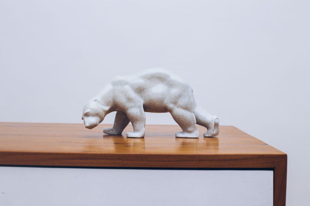 Urso de Porcelana 1 - Pé Palito Vintage