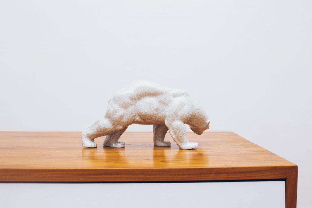Urso de Porcelana 2 - Pé Palito Vintage