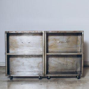 Estante Box Industrial Studio 1 - Pé Palito Vintage