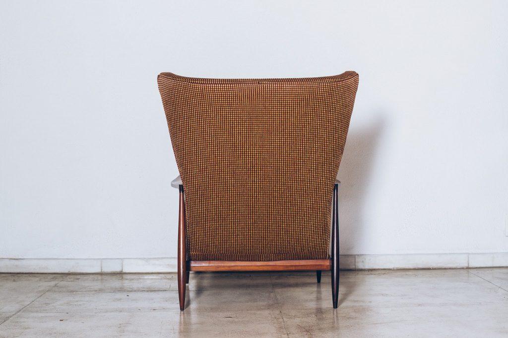 Poltrona Jacarandá Móveis CIMO Anos 60 - 3 - Pé Palito Vintage