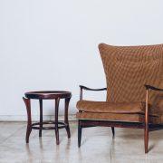 Poltrona Jacarandá Móveis CIMO Anos 60 - 4 - Pé Palito Vintage