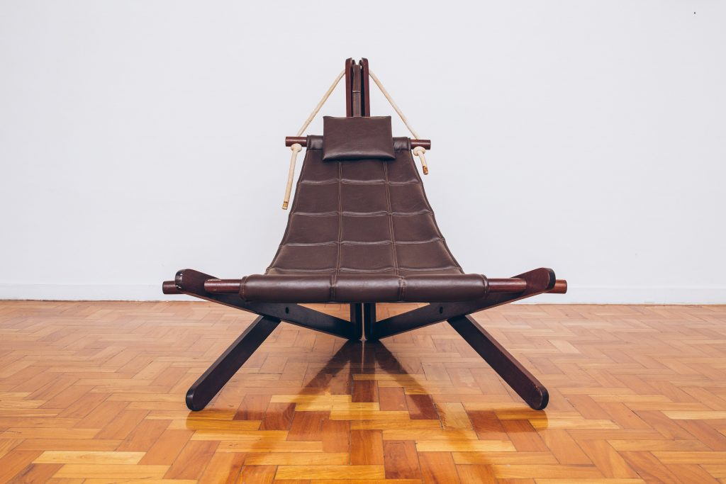 Poltrona Vela - Dominic Machaelis - 1 Anos 60 - 70 Pé Palito Vintage