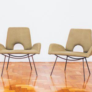 Poltrona Hauner Eisler - Low armchair 1 - Pé Palito Vintage