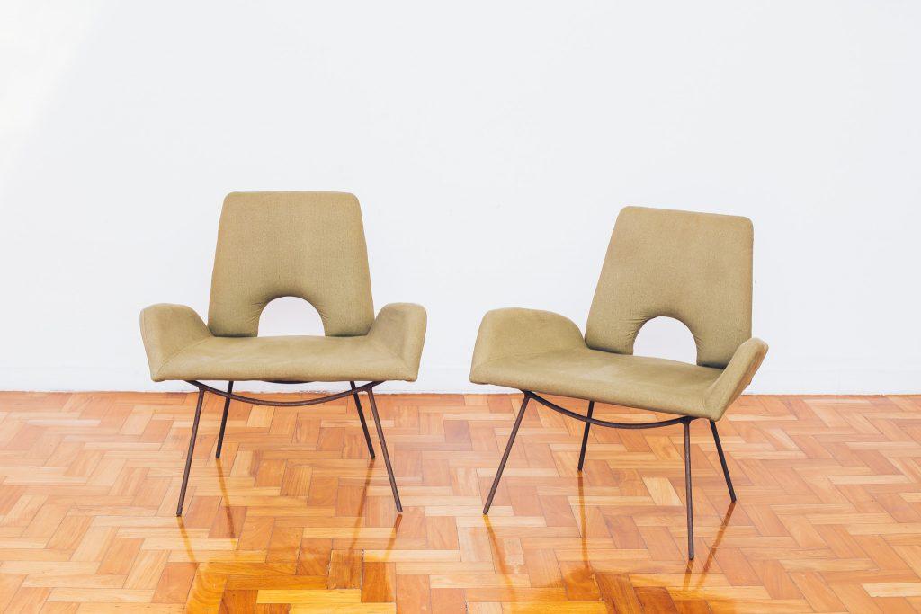Poltrona Hauner Eisler - Low armchair 3 - Pé Palito Vintage