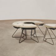 Mesa Reunião - Carteira Grupo Forsa L'Atelier Móveis - 2 - Pé Palito Vintage - Photo Henrique Falci