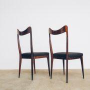 Cadeiras de Jantar Jacarandá Anos 50 - 5 - Pé Palito Vintage