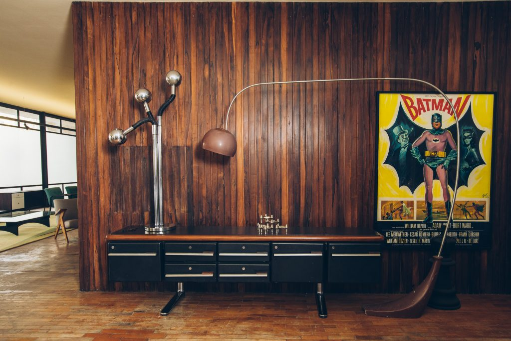 Credenza Warren Platner - Knoll International -1 - Pé Palito Vintage