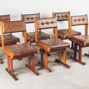 Cadeira Moderna Caviúna -1A - Pé Palito Vintage