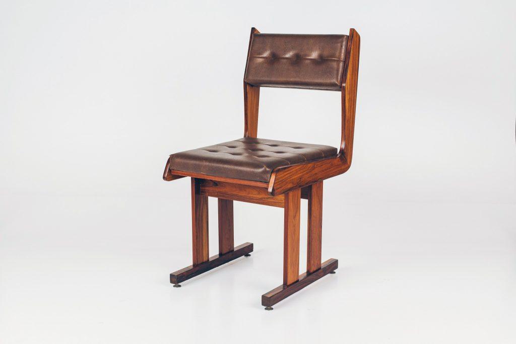 Cadeira Moderna Caviúna -1B - Pé Palito Vintage