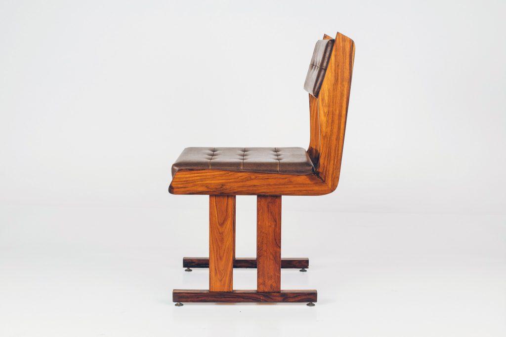 Cadeira Moderna Caviúna -2 - Pé Palito Vintage
