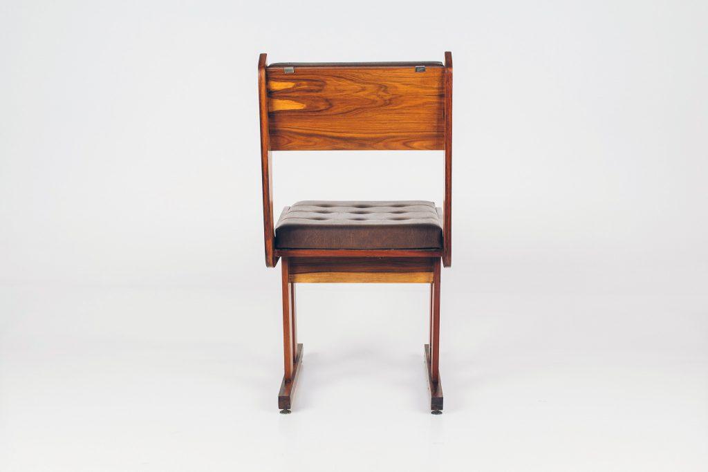 Cadeira Moderna Caviúna -4 - Pé Palito Vintage
