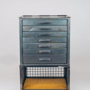 Gaveteiro Industrial Oficina - 2 - Pé Palito Vintage