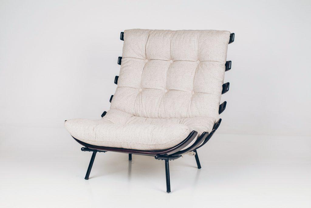 Poltrona Costela Brasil Martin Eisler - 1 - Pé Palito Vintage