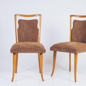 Cadeira Anos 50 – Caviúna – 1 – Pé Palito Vintage