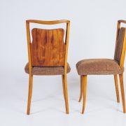 Cadeira Anos 50 – Caviúna – 2 – Pé Palito Vintage