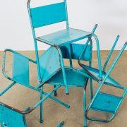 Cadeira Infantil Vintage - 3 - Pé Palito Vintage