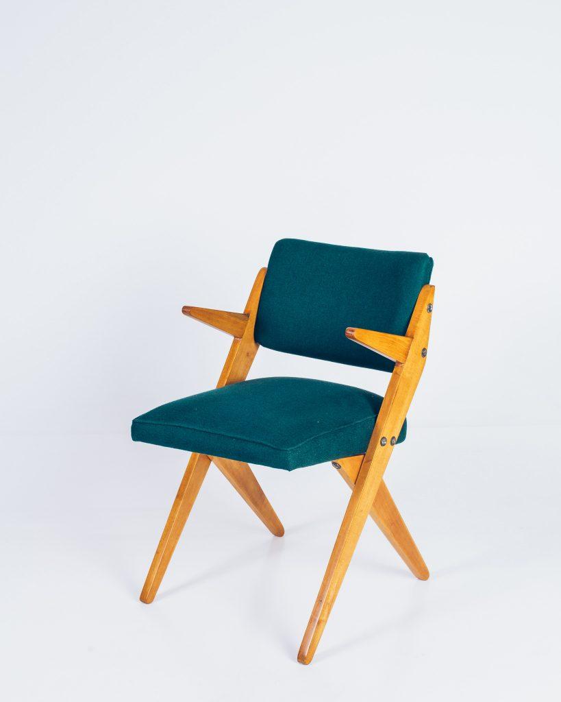 Cadeira Zanine Caldas Infantil - 1 - Pé Palito Vintage