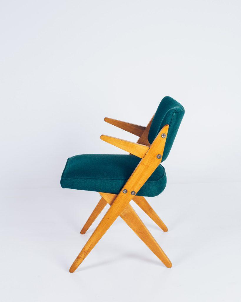 Cadeira Zanine Caldas Infantil - 2 - Pé Palito Vintage