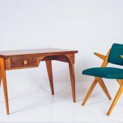 Escrivaninha José Zanine Caldas - Infantil - com selo de fabricação - 2 - Pé Palito Vintage