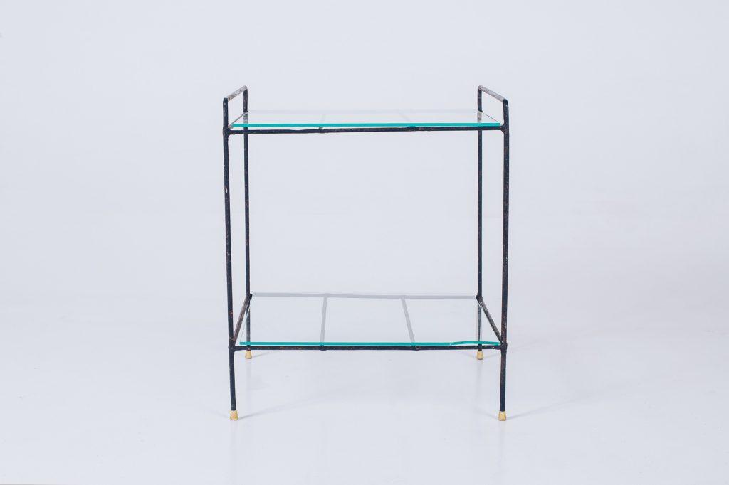 Side Table Metal Brazil Modern - 3 - Pé Palito Vintage
