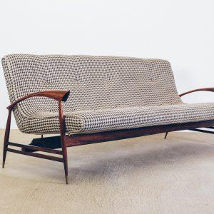 Sofá Brasil Moderno Anos 50 - 1 - Pé Palito Vintage